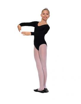 Купальник гимнастический длинный рукав полиамид