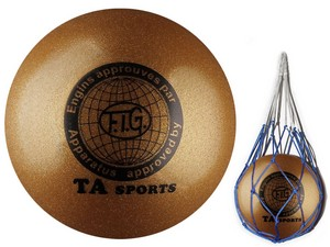 Мяч гимнастический стандартный 18-19см TA Sports